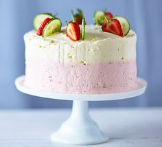 Pimm's Cake Yes, you read right, Pimm's in cake form. Smooth strawberry and lemon buttercream coupled with cucumber essence make this the ultimate taste of summer