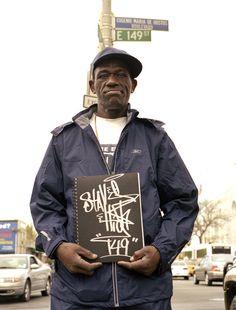 Portrait of Wayne Roberts, better known as graffiti artist Stay High 149.