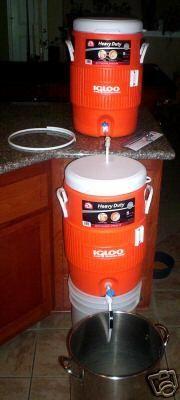 how to make a 1 gallon mash tun