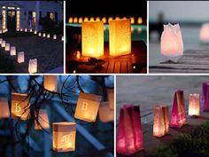 Luminarias para exteriores, iluminan caminos, jardines o cualquier rincón exterior al que queráis dar encanto