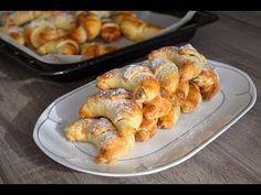 Bread Dough Recipe, Baking Videos, Desert Recipes, Pretzel Bites, Amazing Cakes, Shrimp, Sausage, Deserts, Treats