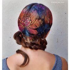 Brand New #Pearlecent #HairStencil work