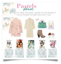 """Pastels Please"" by prep-love ❤ liked on Polyvore featuring Chanel, Foley + Corinna, Graham & Brown, Warehouse, Carven, rag & bone, Tory Burch, Sin, KAROLINA and Bela"