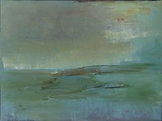 Addie Shevlin:  Blue Venice  Oil on canvas  36 x 48 inches  2011