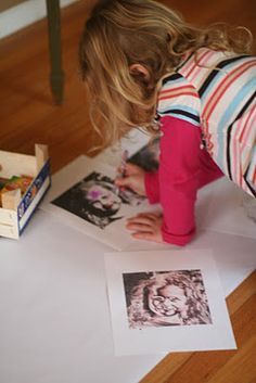Pop art with kids