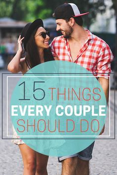 Looking for spontaneous ways to lock down or spice it up your love? Read more on our list of 15 Things Every Couple Should Do Together now live at Dashingly Different. Take not of these suburb date ideas to bring you closer to your significant other today! #love