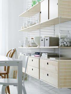 Työpöytä-päätöksiä | String System -pöytä kotitoimistoon - Pupulandia | Lily.fi