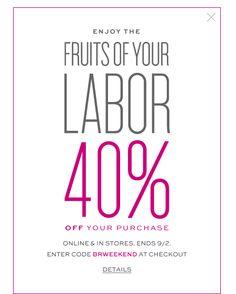 Coupon Design, Email Design, Banana Republic, Campaign, Inspiration, Ideas, Fashion, Biblical Inspiration, Moda