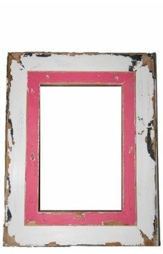 Pink Solid Wood Photo Frame