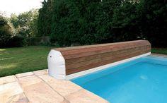Накрытие бассейна над водное автоматическое  RollOver Infiny 5x14 м Del Франция