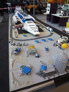 LEGO Space #lego #space #spaceship #legospaceship