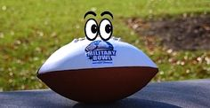The Military Bowl unveils lamest mascot ever: Sgt Stripes. Really? A commemorative football with   photoshop eyes?