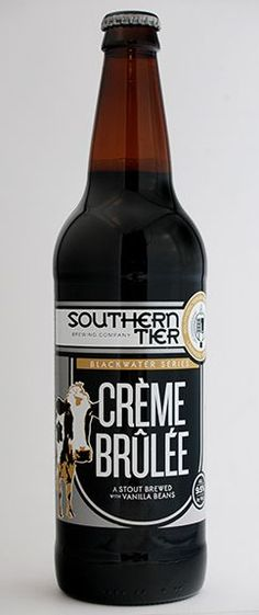 Southern Tier Crème Brûlée--Lol just realized that this talks about breast feeding. I am not making a statement about drinking and breast feeding...but this a tasty creme brulee stout.