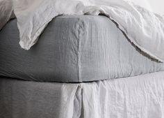 Basix Fitted Linen Sheet | Hale Mercantile | Est Design Directory