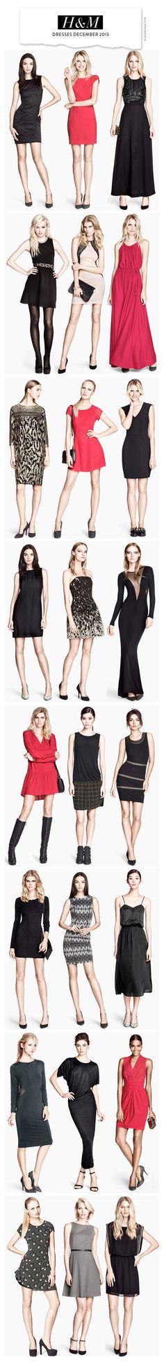 H&M Dresses Dezember 2013