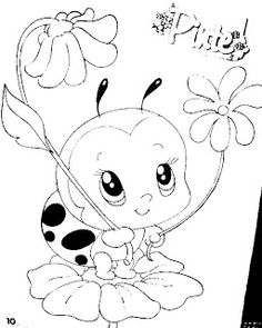 Cute Coloring Pages, Animal Coloring Pages, Coloring Books, Coloring Sheets, Pencil Art Drawings, Cartoon Drawings, Easy Drawings, Hand Embroidery Patterns, Quilt Patterns