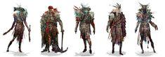 ArtStation - war shamans, Chenthooran Nambiarooran