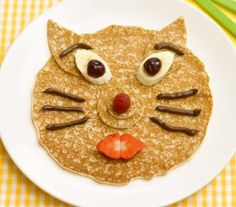 Use fun-shaped cookie cutters in the frying pan to make kids' pancakes into shapes they'll love.