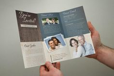 Gated fold out brochure for a husband/wife team who teach at church camps nationwide. Description from pinterest.com. I searched for this on bing.com/images