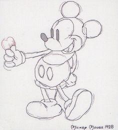 Die 53 besten Bilder von mickey mouse zeichnen | Disney ...