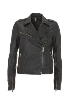"""""""Goth-chic from Topshop"""" I have that exact leather jacket and I don't see it as goth at all"""