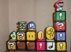 Melted Perler Beads