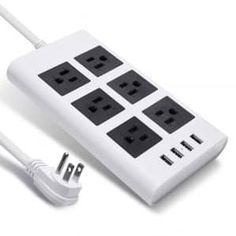 Top 15 Best Power Strip Reviews (May, 2019) - A Completed Guide Power Strips, Led Light Design, Room Ideas, Top, Crop Shirt, Shirts