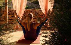 Pilates, Yoga Holidays, Yoga Retreat, Yoga Flow, Hotel Spa, Ibiza, Spain, Wellness, Outdoor Decor