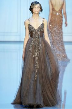 Elie Saab Fall 2011 collection in Paris