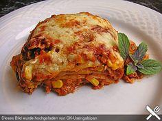 Mells mexikanische Enchilada-Lasagne, ein sehr leckeres Rezept aus der Kategorie Auflauf. Bewertungen: 119. Durchschnitt: Ø 4,6.