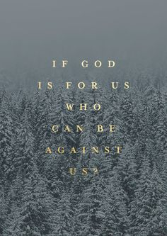 If God Is For Us - original print from The Worship Project