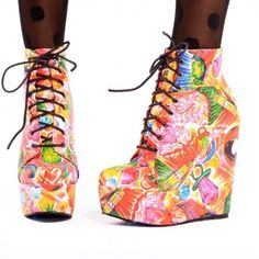 Sweets boots iron fist!