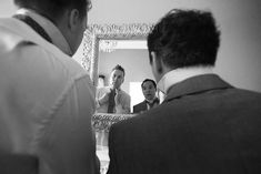 The serious business of tying ties. A real wedding by Couple Photography Tying Ties, Wedding Ceremony, Wedding Day, Up For The Challenge, Serious Business, Magical Wedding, Sunset Photos, Down Hairstyles