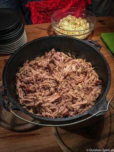 Pulled Pork aus dem Dutch Oven