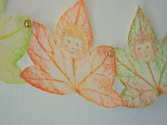 Celebrate ~ Autumn ~ Leaf Gnome Garland, Deutsh