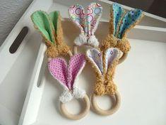 Telani Design: Babyspielzeug nähen - Hasen-Greifring