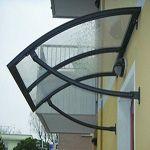 Alero Marquesina Curvo, Protección para Puerta de Entrada