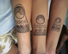 #tattoofriday – Matching Tattoos | Follow the Colours
