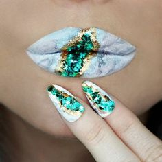 75 Creative Lip Art Designs With Super Nails 2018 - Reny styles Lip Art, Lipstick Art, Lipsticks, Cheap Lipstick, Crazy Makeup, Cute Makeup, Lip Makeup, Makeup Brushes, Theatrical Makeup