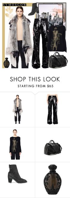 """""""SVMOSCOW 67. - KNITWEAR"""" by carola-corana ❤ liked on Polyvore featuring If Six Was Nine, Faith Connexion, Yohji Yamamoto, Rick Owens, Guidi and Kat Von D"""