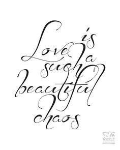 Love print quote by JAnoveltyDeSign on Etsy