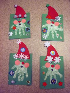 Christmas Santa Print Out Crafts | Christian | ... ~ At Home With My Girls ~ ... | Page 3