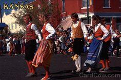 Swedish Festival Kansas | Swedish Dancers during the Svensk Hyllingsfest Lindsborg Kansas
