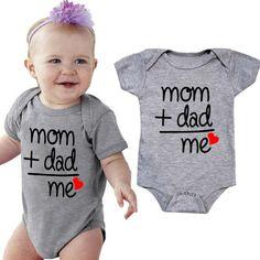 Je suis la petite soeur bébé gilet rompersuit Babygrow Bébé Enfant Nouveau Bébé Fille