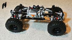 Crawler Truck Platform (Lego Technic)