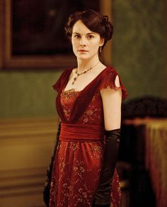 I think this is one of my favorite dresses from Downton Abbey