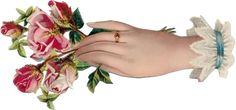Клипарты Vintage. Руки - цветы. Картинки для декупажа.: ♥ Creative NN. Блог Альбины Рассеиной. ♥