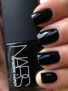 Top 10 Black Nail Polishes - going through such a black nail polish phase this summer