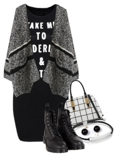 """""""Untitled #8358"""" by queenrachietemplateaddict ❤ liked on Polyvore featuring ALDO, Monica Vinader and Dr. Martens"""