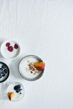 ... homemade coconut yogurt (dairy and sugar free) ...
